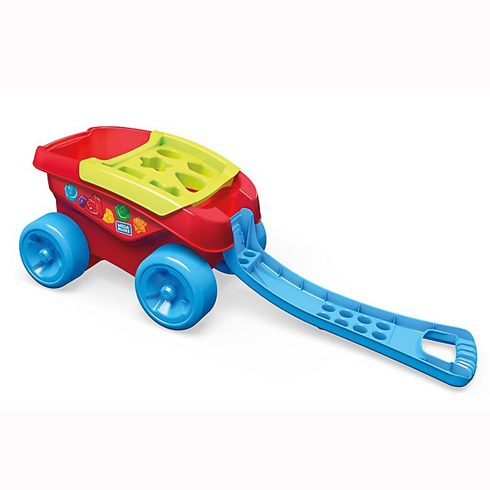 Alternate image 1 for Mega® Bloks Shape Sorting Wagon