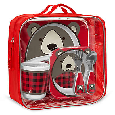 SKIP*HOP® Zoo Winter Melamine Gift Set