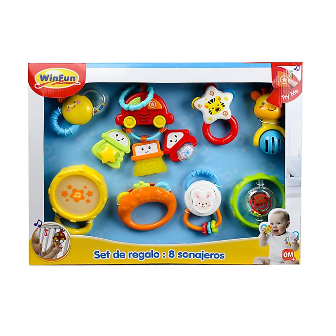 Alternate image 1 for Winfun® 8-Piece Baby Gift Set