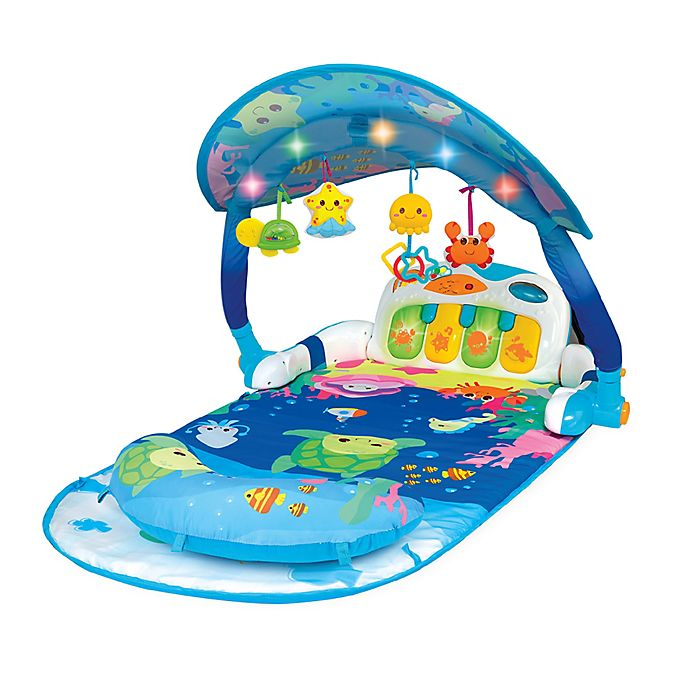 Alternate image 1 for WinFun® Magic Lights and Musical Play Gym