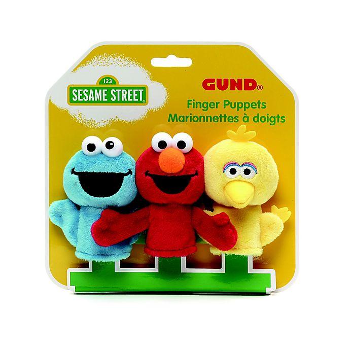 Alternate image 1 for GUND® Sesame Street® Finger Puppets