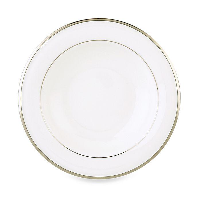 Alternate image 1 for Lenox® Solitaire™ White Rim Soup Bowl