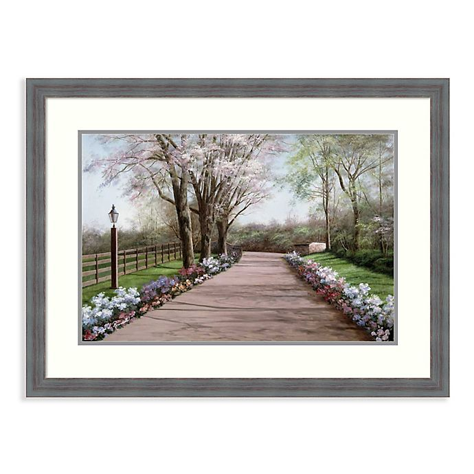 Alternate image 1 for Amanti Art® Country Lane 32.25-Inch x 24.25-Inch Acrylic Framed Print