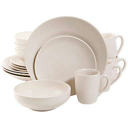 Gibson Home Paradiso Linen 16-Piece Dinnerware Set