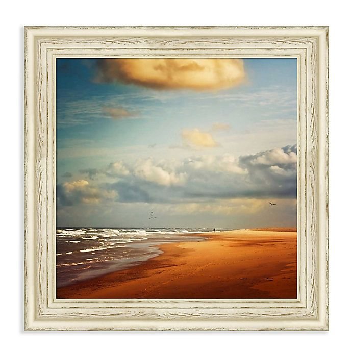 Alternate image 1 for Amanti Art® Dirk Wuestenhagen Landscapes Beaches 23-Inch Square Framed Canvas in White