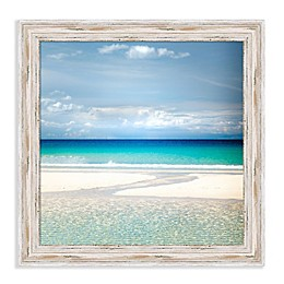 Amanti Art Gentle Kiss 21-Inch Square Framed Canvas Wall Art