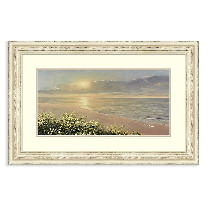 Alternate image 1 for Amanti Art® Peaceful Waters 34.25-Inch x 22.25-Inch Acrylic Framed Print