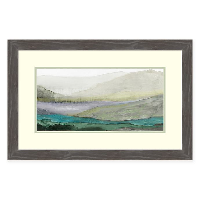 Alternate image 1 for Amanti Art® Tom Reeves Landscapes 28.75-Inch x 18.75-Inch Acrylic Framed Print in Grey