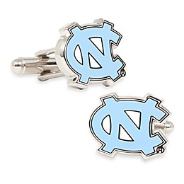 University of North Carolina Silver-Plated and Enamel Cufflinks