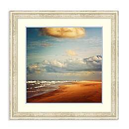Amanti Art Dream Beach 34.25-Inch Square Framed Wall Art