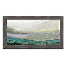 Amanti Art® Valley II 27-Inch x 15-Inch Framed Canvas Wall Art