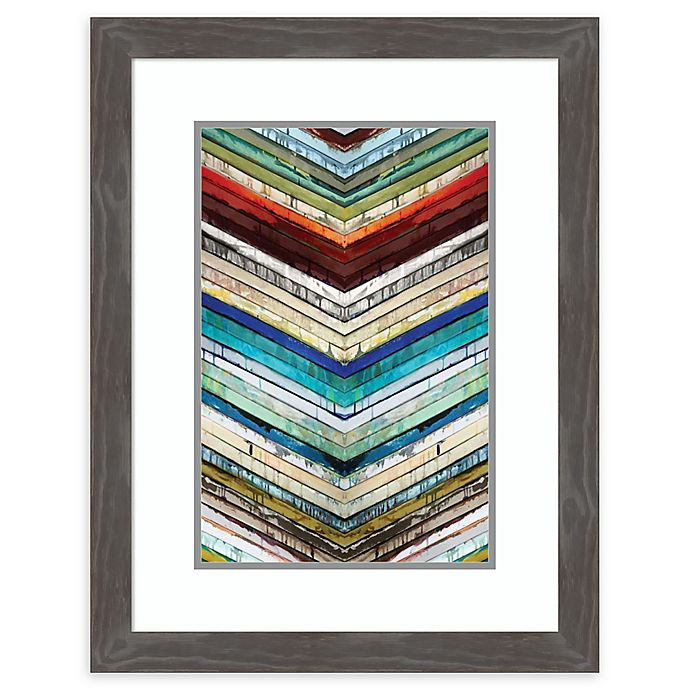 Alternate image 1 for Amanti Art® Ruth Palmer Abstract Acrylic Framed Print in Grey