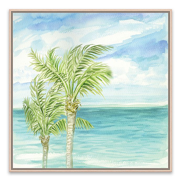 Alternate image 1 for Refreshing Coastal Breeze I 18.88-Inch Square Framed Canvas Wall Art