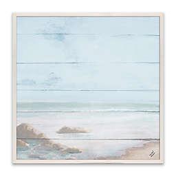 Atlantic Coast I 16-Inch Wood Wall Art