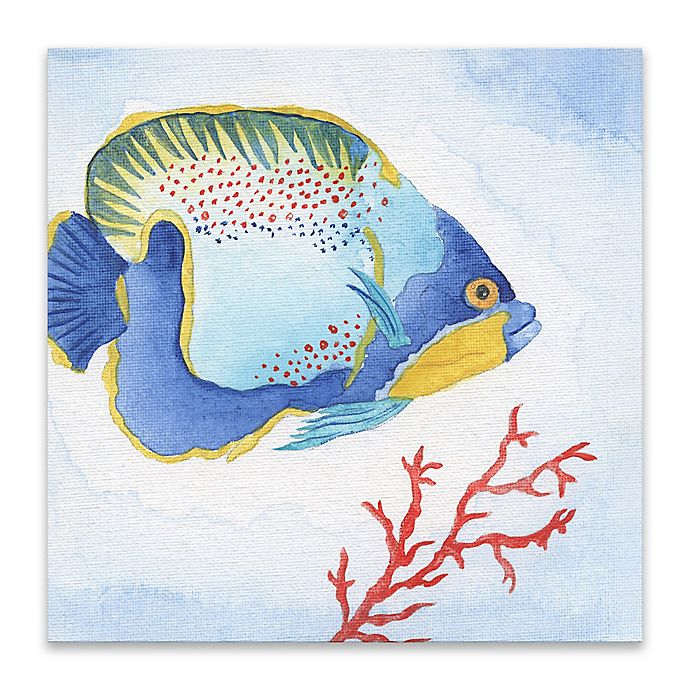 Alternate image 1 for Galapagos Fish I 18-Inch Canvas Wall Art