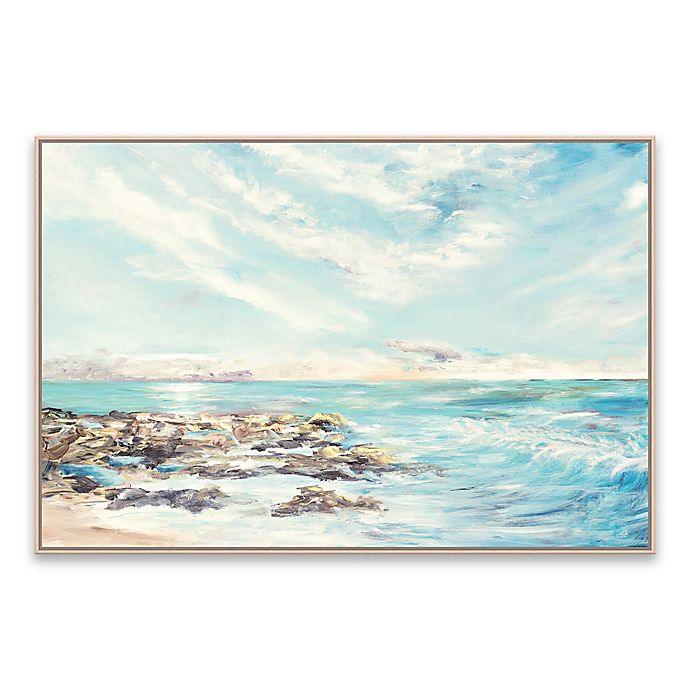 Alternate image 1 for Into the Horizon Morning 37-Inch x 25-Inch Framed Canvas Wall Art