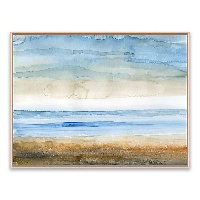 Alternate image 1 for Seaside I 25-Inch x 19-Inch Framed Canvas Wall Art