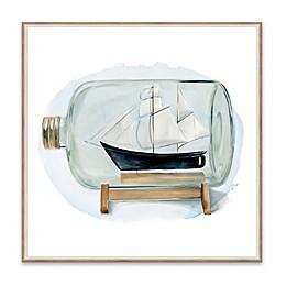 Sail the Seas II 18.88-Inch Framed Canvas Wall Art