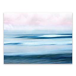 Ocean Landscape 24-Inch x 18-Inch Wrapped Canvas Wall Art