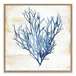 Blue Kelp 18.88-Inch Canvas Wall Art