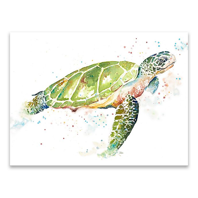 Alternate image 1 for Sea Turtle II 24-Inch x 18-Inch Canvas Wall Art