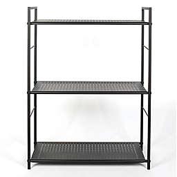Relaxed Living® 3-Tier Shelf in Matte Black