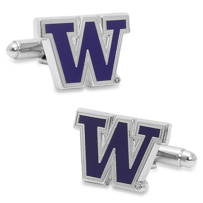 Alternate image 1 for University of Washington Cufflinks