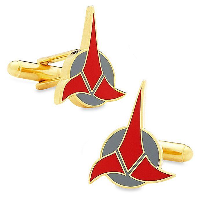 Alternate image 1 for Star Trek Klingon Cufflinks