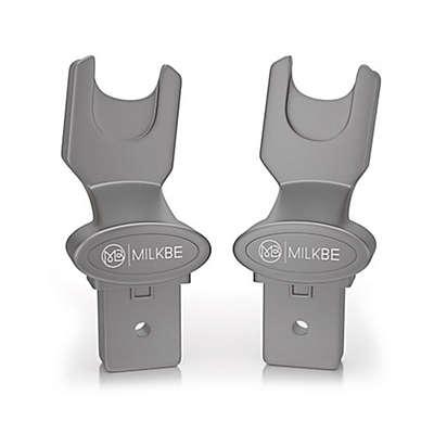 Milkbe Universal Car Seat Adapter in Grey