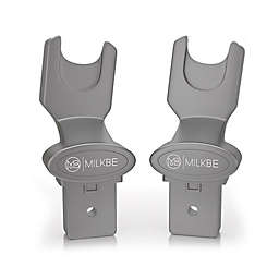 Milkbe Universal Car Seat Adapter in Grey