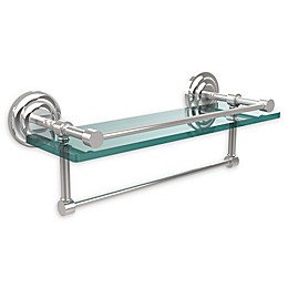 Allied Brass Que New Collection Glass Gallery Shelf