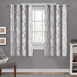 Branches 2-Pack Grommet Top Window Curtain