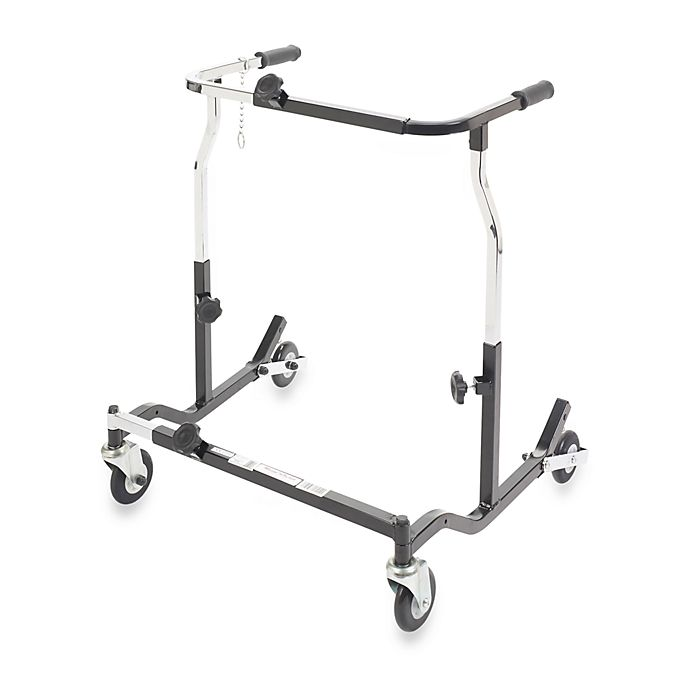 Alternate image 1 for Drive Medical Wenzelite Bariatric Anterior Safety Roller in X-Large Silver Vein