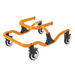 Drive Medical Wenzelite Tyke Trekker Gait Trainer in Orange
