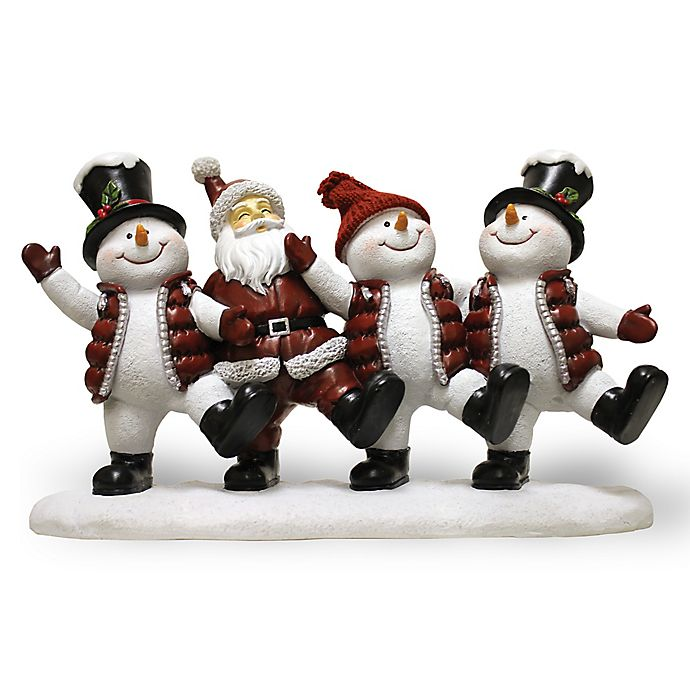 Alternate image 1 for A Cheerful Giver Dancing Willie the Snowman Resin Figurine