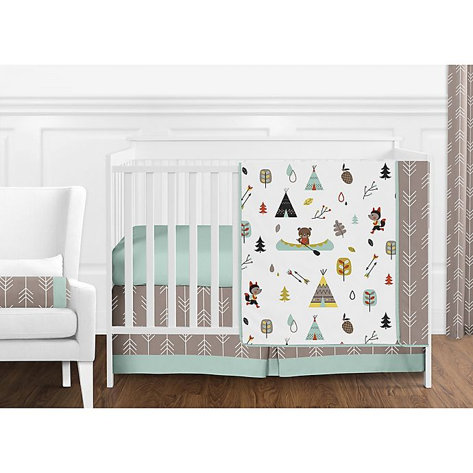 Alternate image 1 for Sweet Jojo Designs® Outdoor Adventure Crib Bedding Collection
