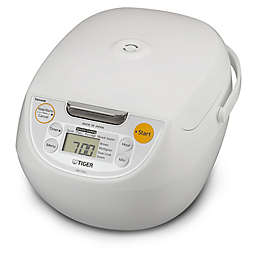 Tiger Multi-functional 5.5-cup Rice Cooker in White