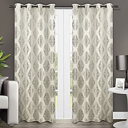Augustus Grommet Window Curtain Panel Pair