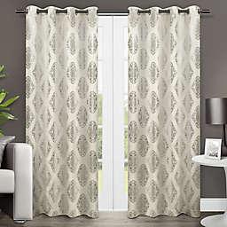 Augustus Grommet Window Curtain  (Set of 2)