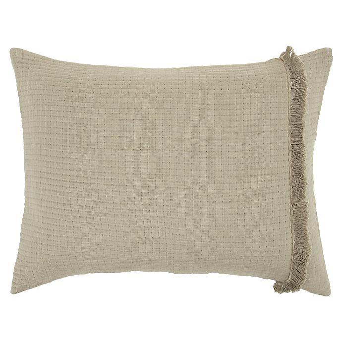 Alternate image 1 for Donny Osmond™ Windsor Standard Pillow Sham in Natural