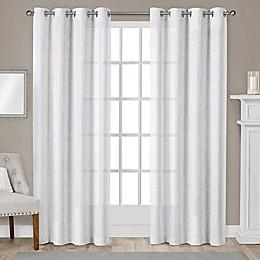 Sparkles Grommet Top Window Curtain Panel Pair