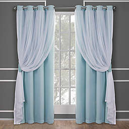 Catarina Grommet Room Darkening Window Curtain Panel Pair