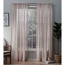 Cali Rod Pocket Window Curtain Panel Pair