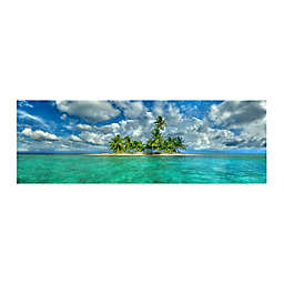 Colossal Images  ColIection Island Getaway Canvas Wall Art