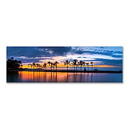 Christopher Knight Collection Kona Twilight 58-Inch x 18-Inch Canvas Wall Art