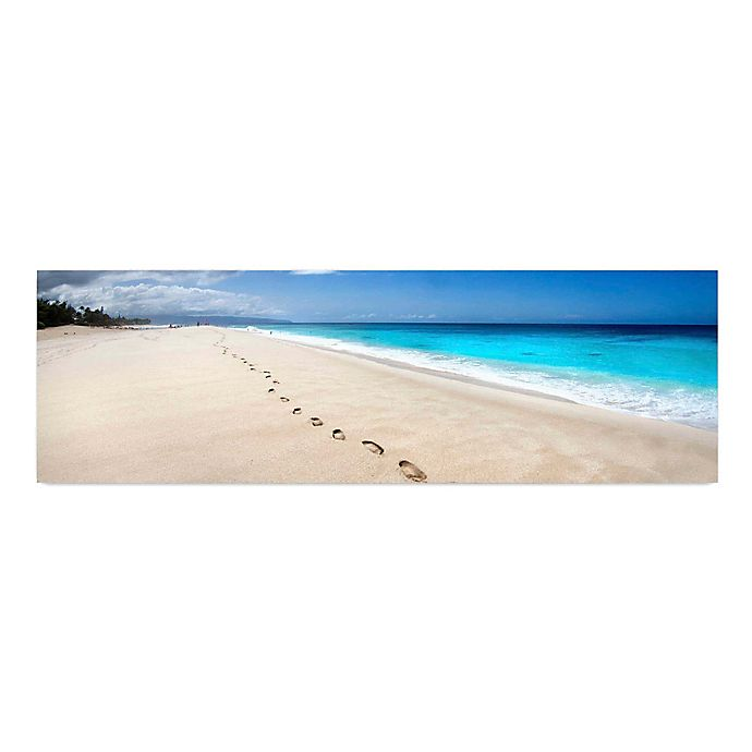 Alternate image 1 for Footsteps 58-Inch x 18-Inch Canvas Wall Art
