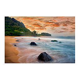 Colossal Images    Hawaiian Beach Canvas Wall Art