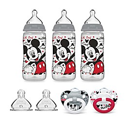 NUK® Newborn 7-Piece Mickey and Minnie Mouse Bottle & Pacifier Set