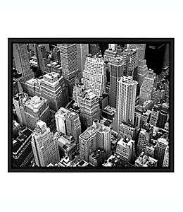 Cuadro de Nueva York de lienzo en carbón