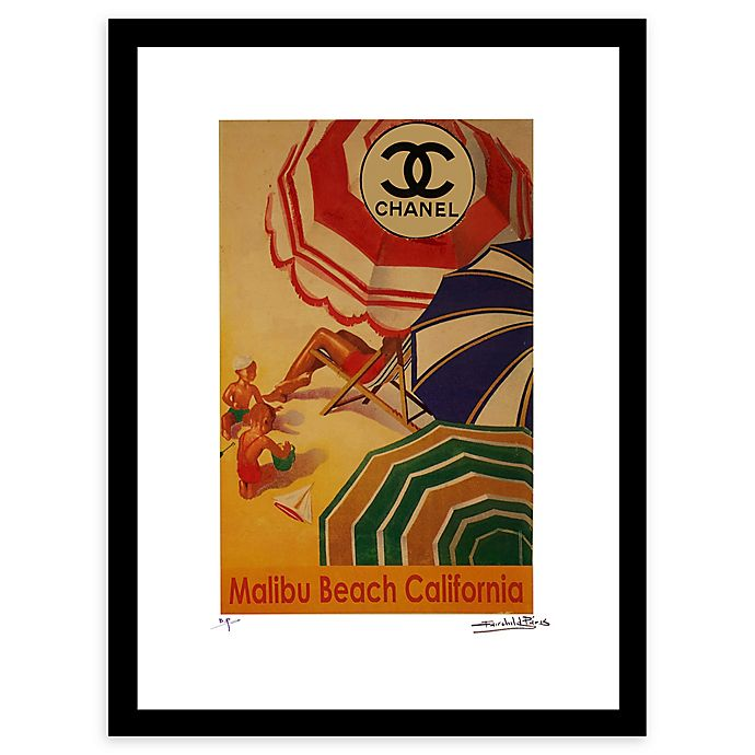 Alternate image 1 for Fairchild Paris Shade Chanel Ad 16-Inch x 20-Inch Print Wall Art